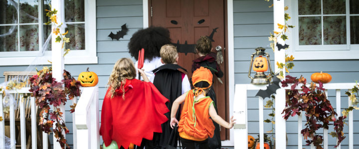 Fun Halloween Decorations Ideas in Carrollton at Trinity Plaza